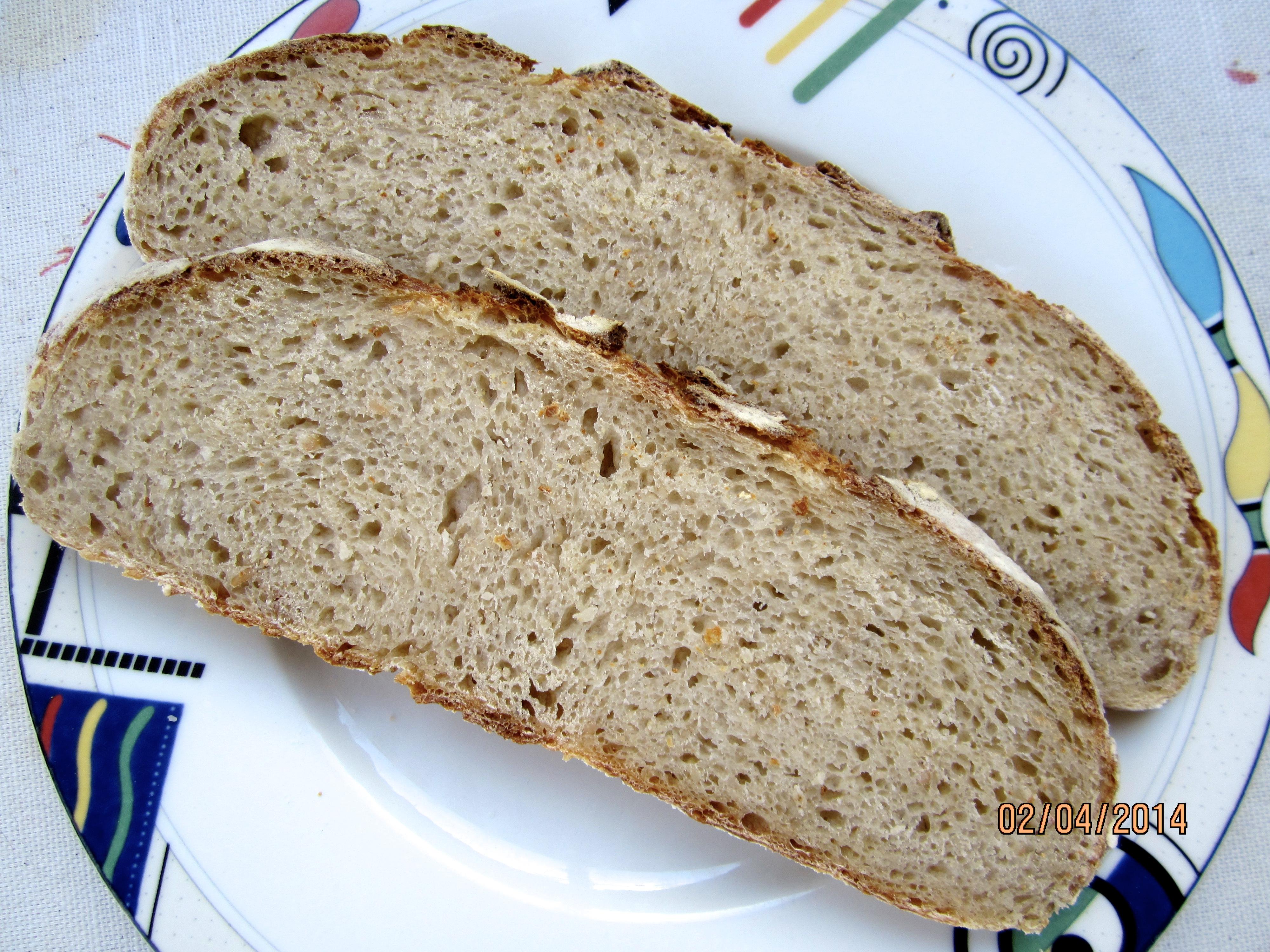 Barley Bread Crumb